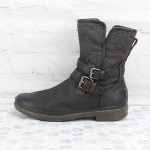 UGG Australia Wool Lining Booties Ankle Boots
